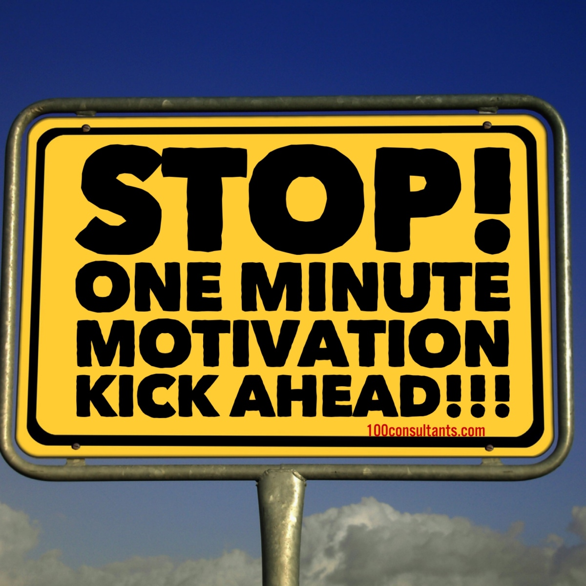The One Minute Motivation Kick 1